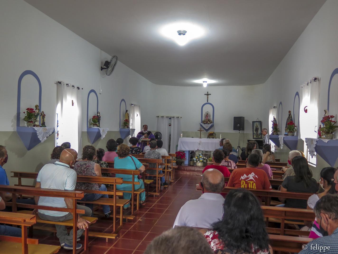 Missa na Capela Santa Eufrosina marca encerramento do ano