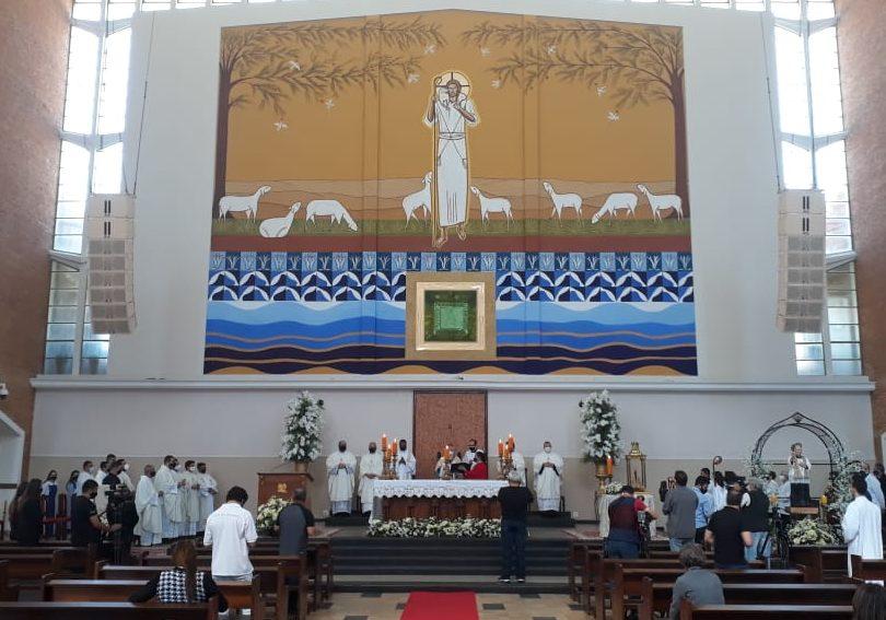 Tambaú: Imagem de Nossa Senhora Aparecida é conduzida ao Santuário