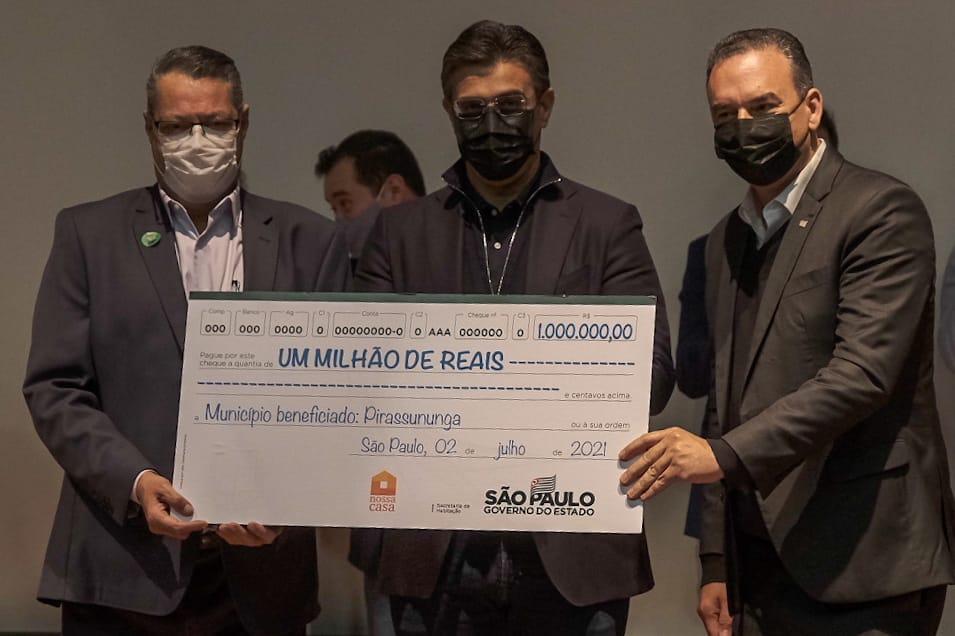 Pirassununga: Governo do Estado  libera R$1 milhão do Nossa Casa –  Apoio para 100 moradias